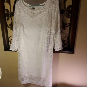 Lily Pulitzer white lacy dress